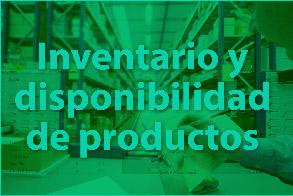 Inventario y disponibilidad de productos