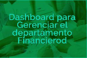 Dashboard para Gerenciar el departamento Financiero