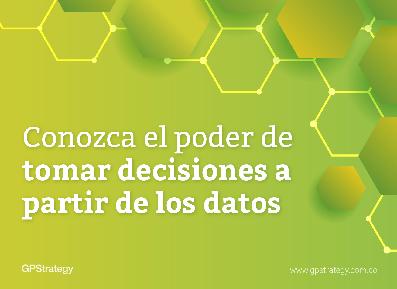 tomar decisiones a partir de los datos