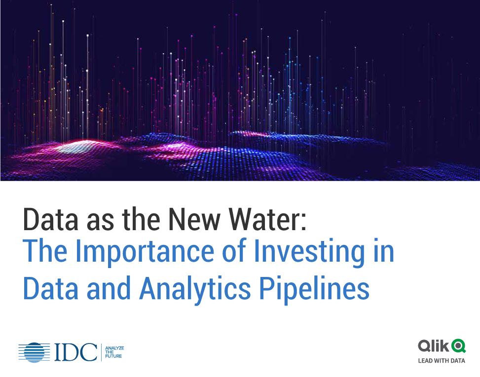 Los datos como nueva agua: La importancia de invertir en canalizaciones de datos y análisis.