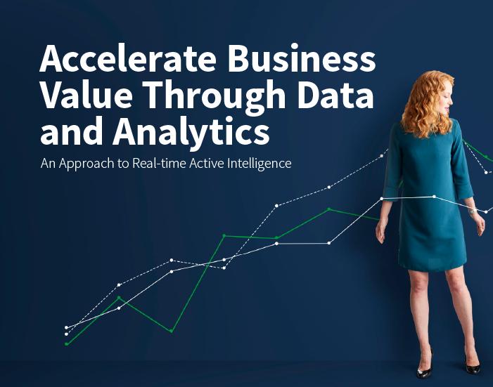 Acelere el valor de su negocio con datos y análisis Qlik