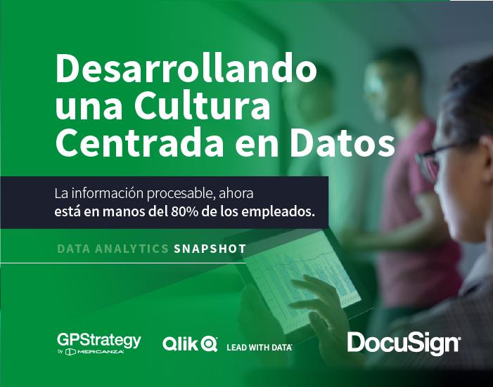 Desarrollando una cultura centrada en datos