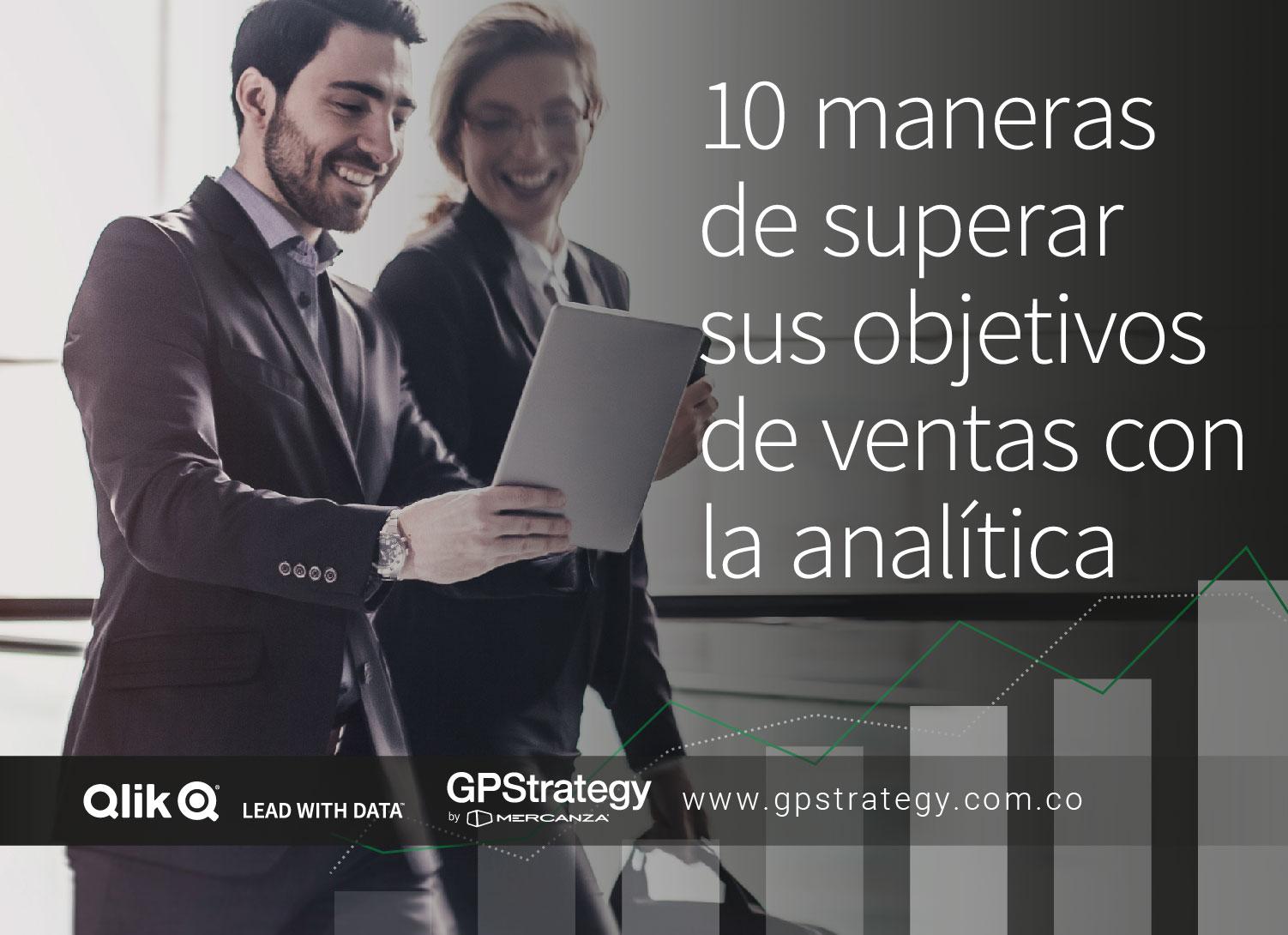 10 maneras de superar sus objetivos de ventas con la analítica - ebook